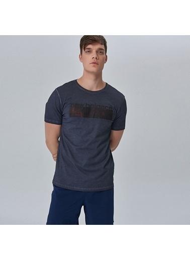 New Balance Tişört Lacivert